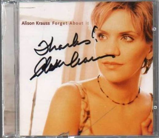 Forget About It (by Alison Krauss)
